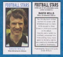 West Bromwich Albion David Mills